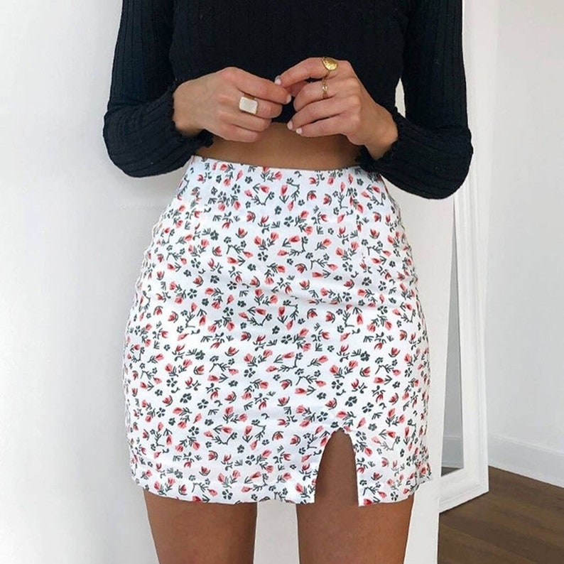 New Lace Hem Skirt Womens Skirt Slim Lace-up Mini Dress High Waist Short Skirt Black Low Waist E Girl Aesthetic Mini Tennis Skirt