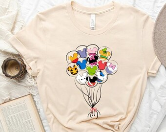 Disney Shirt, Disneyland Shirt, Disney Trip Shirt, Disney Balloon Shirt, Mickey Minnie Shirt, Mickey Ears Shirt, Disneyworld Shirt,DL-160807