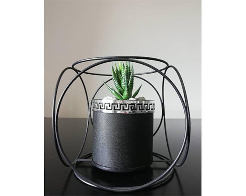 /%100 Handmade Decorative Exclusive Concrete Flower Pot
