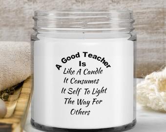 Teacher Candle, Teacher Gift , Gift Idea for Teacher, Birthday Gift for Teacher