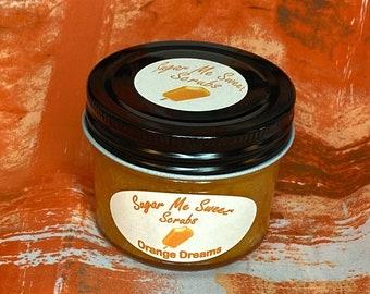 Body Sugar Scrub, Skin Exfoliation, Essential Oils, Luxury Skincare, All-Natural, Sugar Body Scrub, Birthday Gift, Gift for Her, Body Scrub