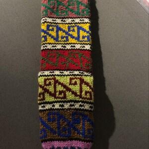 Kurdish Ethnic Handmade Christmas Socks