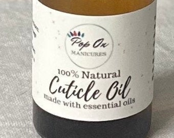 100% Natural Cuticle Oil - Made with Essential oils