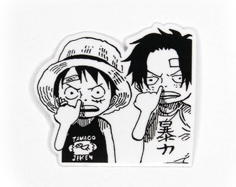 One Piece Stickers Etsy