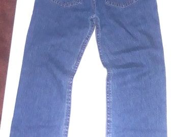Energie joe caputo jeans uomo usato relaxed comodo W31 TG45 gamba dritta T4690