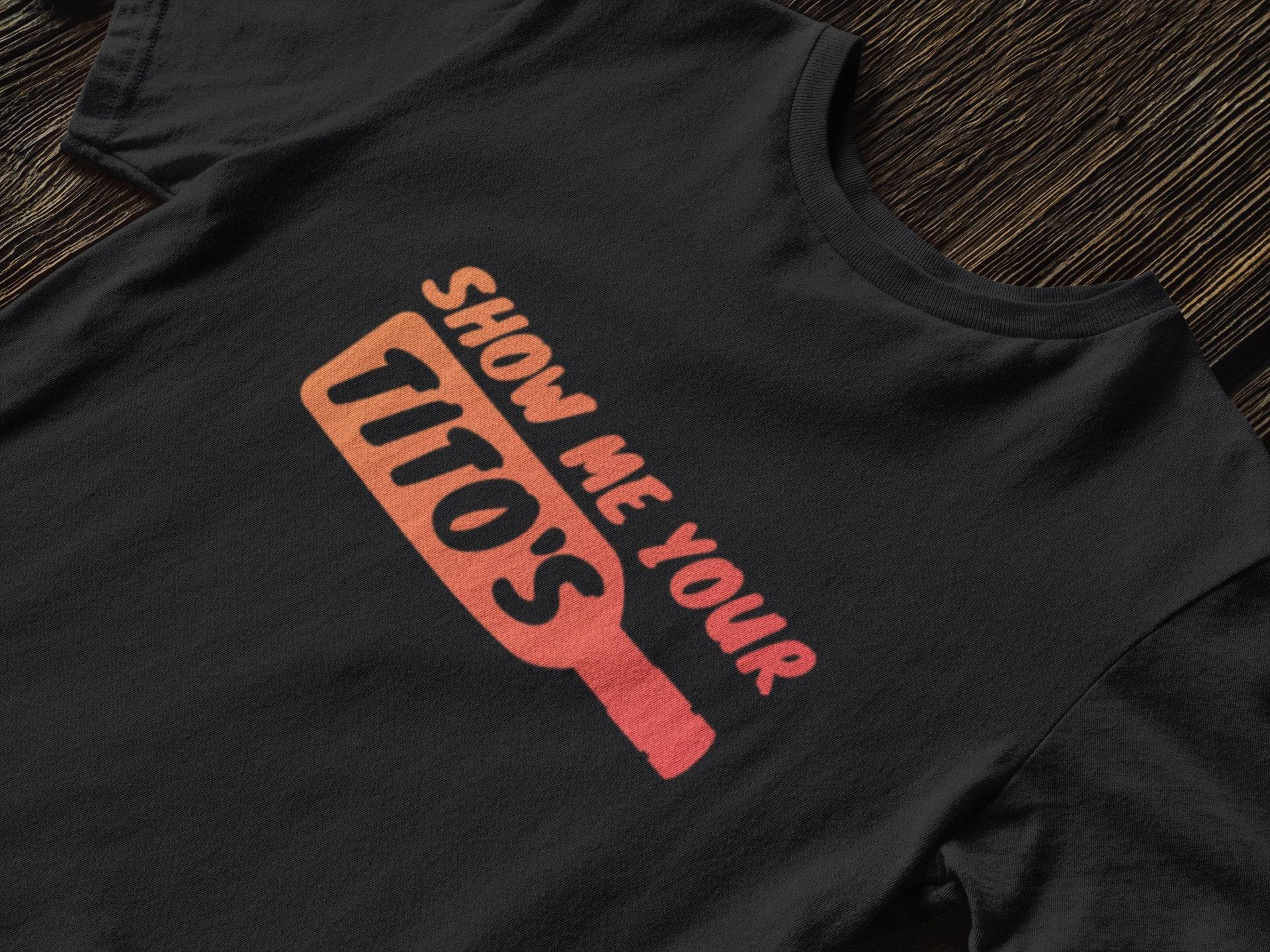Zeig mir dein Titos T-Shirt Unisex-großes Schnapshemd | Etsy