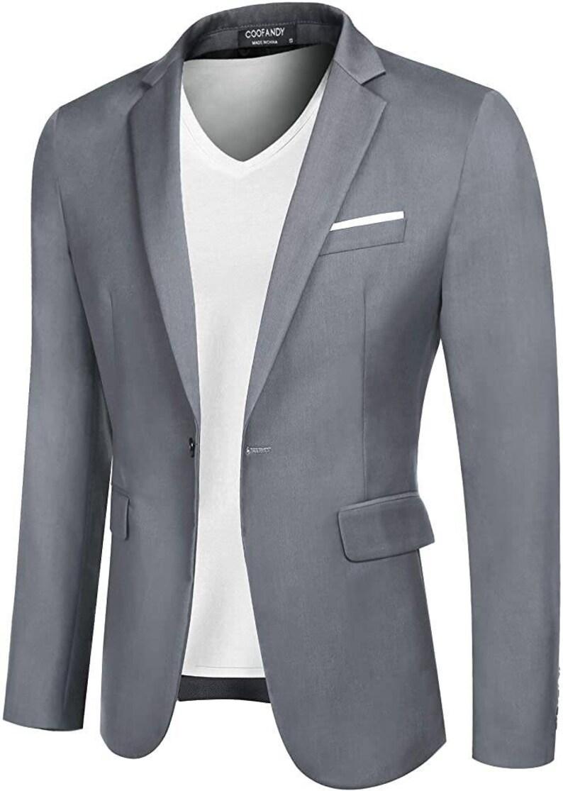 Men/'s Casual Suit Blazer Jackets Sports Coat  Gents Party wear Winter wear Gift for Him  Wedding wear   Gents Office wear  Fashion wear