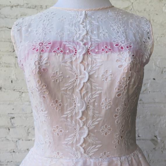 1950's Pink Cocktail Dress. - image 2