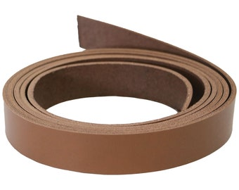 7 Feet Long 38 inch 10mm x 84 Tan Leather Genuine Leather Strap 38 Inch  10mm Flat Strip Premium Quality Real Leather