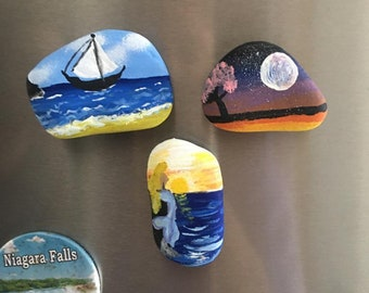 How To Paint A Stone Mouse Rock Painting Lesson Pdf Etsy