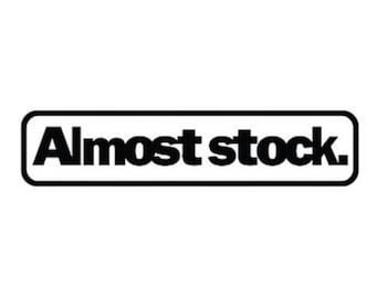 Almost Stock | Custom Precision Die Cut Vinyl Decal | Sticker