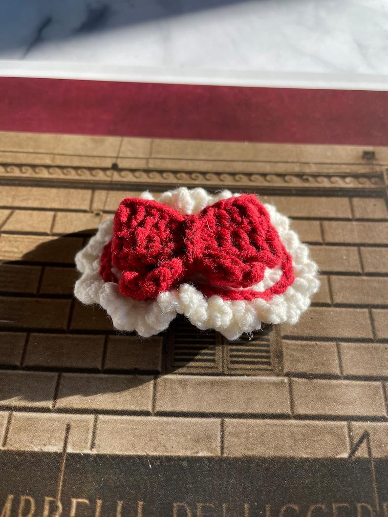 Basic Bow Crochet Hair Clips Toddler Basic Bow Hair Clips Girl  Basic Bow Hair Clips