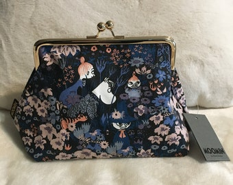 Moomin Pouch with Snufkin, Snorkmaiden, Mymble and Little My