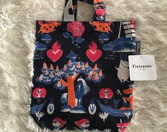 Magic Dark Blue Moomin Bag from Finlayson