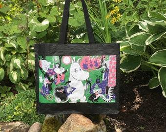 Colorful Moomin Shopping Bag