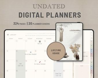 ACHIEVE – Undated Digital  Diary PDF –Lifetime usage -for GoodNote / NoteShelf / Samsung Note
