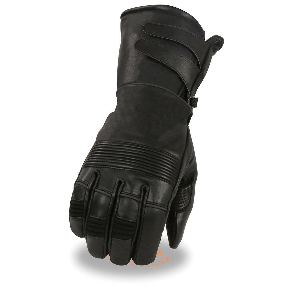 VL811 R Vance Leather Four Pocket Premium Leather Chaps