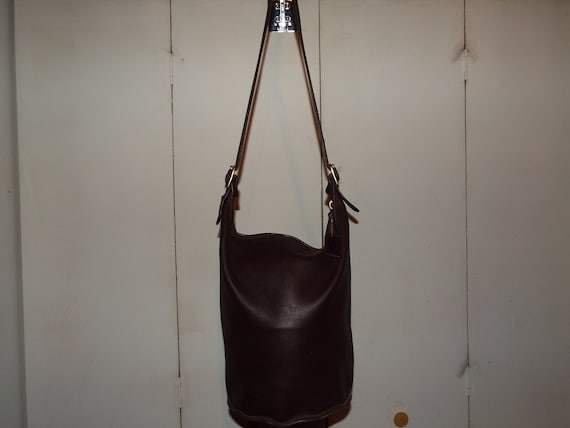 Coach vintage bucket shoulder bag