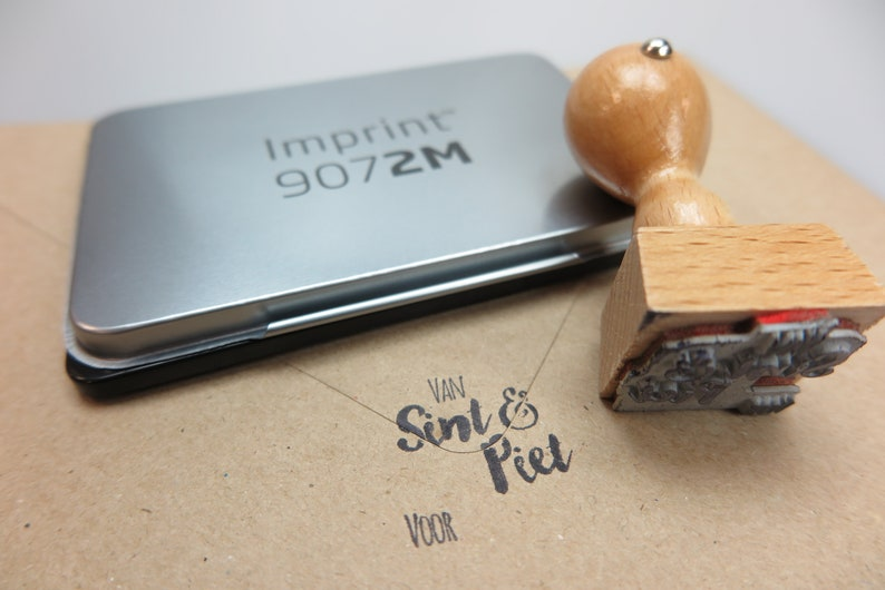 Stamp set from Sint /& Piet for ..