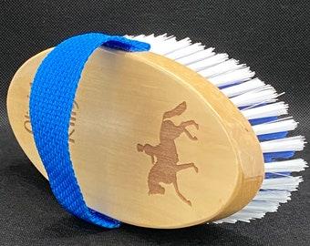 Personalised Horse Grooming Brush - Body Brush, Horse Gift, Pony Grooming Kit, Equestrian Gift, Pony Brush, Custom Horse Brush, Horse Tack