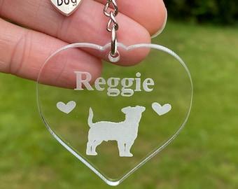 Personalised Pet Keyring, Dog Keyring, Cat Keyring, Custom Pet Keychain, Dog Gift, Cat Gift, Custom Pet, New Pet Gift, Memorial Pet Gift