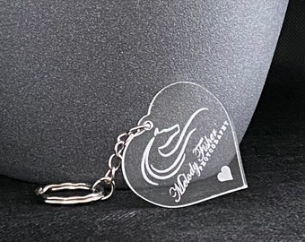 Bespoke Keyring, Keychain - Custom made with company logo or personalised message, Company Gift, Promotional Gift, Personalised Gift