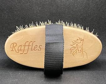 Personalised Grooming Brush, Mud Brush, Grooming Kit, Horse & Pony Brush, Custom Brush, Equestrian Gift, Custom Horse Brush, Horse Tack