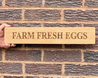 Double Sided Personalised Sign, Engraved Oak Sign, Custom Signs For Home, House Sign, Hanging Sign, Wooden Sign Personalised, New Home Gift