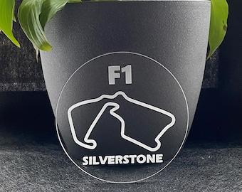 F1 Race Track Drinks Coaster