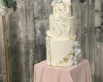 3 Tier fake wedding Cake