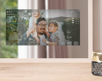 Table Mirror - Desk Mirror With Integrated Smart Display - Mirror Art