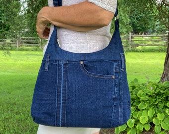 Jean purse from Cleo Jeans, Hobo Bag, Denim Crossbody bag