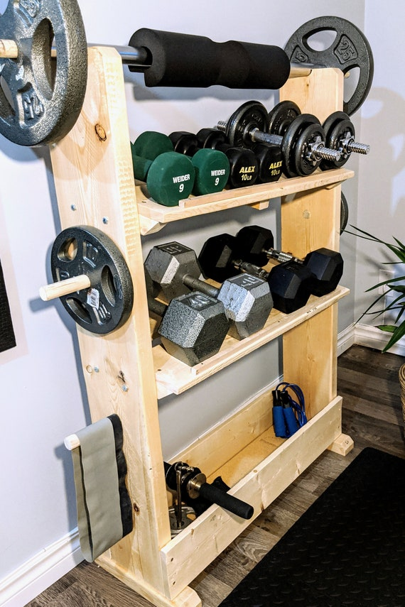 Dumbbell Tree Compact Dumbbell Storage Rack Storage Organizer Bracket for Home Fitness institutions 4-Layer Dumbbell Rack Dumbbell Rack