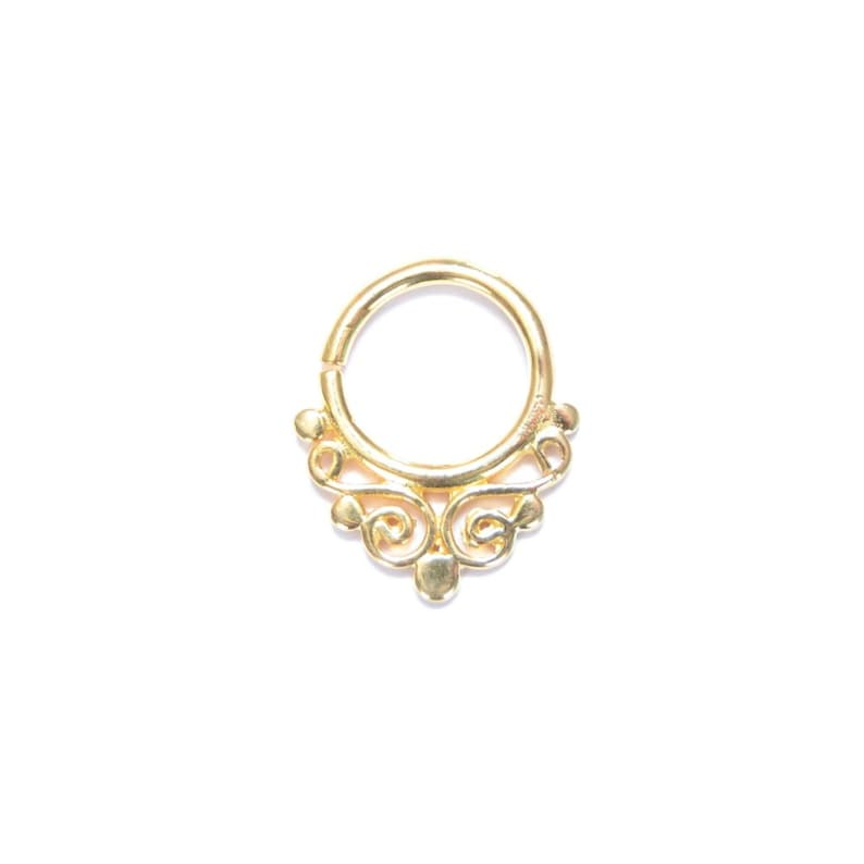 Gold-plated Septum 4