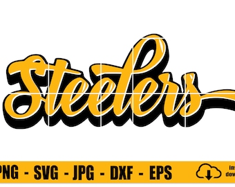 STEELERS Graffiti Writing • Steelers Svg • Instant Download • Svg Files • Dxf Files • Png Files • Jpg files •