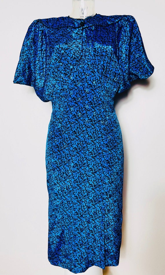 Rare 80's Jacquard Dress