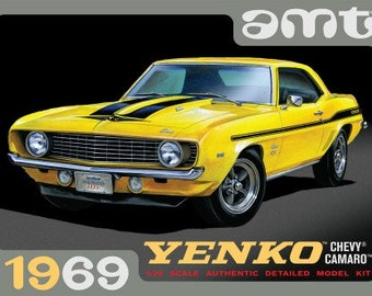 Yenko Blue 67 Camaro Racing Auto Cool Muscle Man Car Dad Daddy Grandpa Uncle Baby Clothes Clothing Boys Girls Infant Onesie Gift