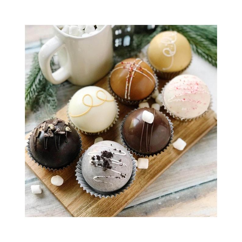 Handmade Hot Chocolate Bombs