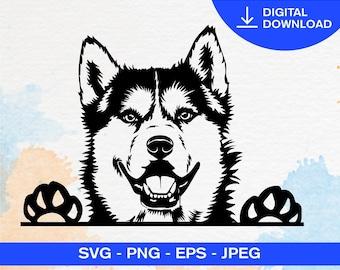 Sleddog Dogsled Art Brothers Love Graphite Print