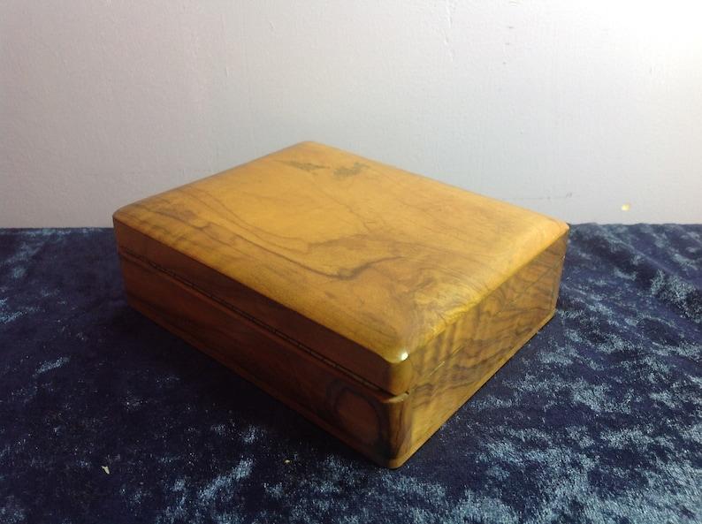 Handmade Wooden Trinket Box