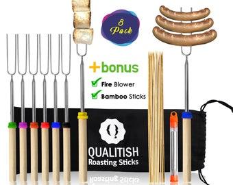 Custom Hot Dog ~ Marshmallow Roasting Sticks ~ Personalized for Free