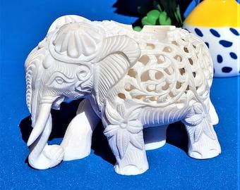 personality trend ashtray   L914 China  retro artificial resin carved Elephant ashtray