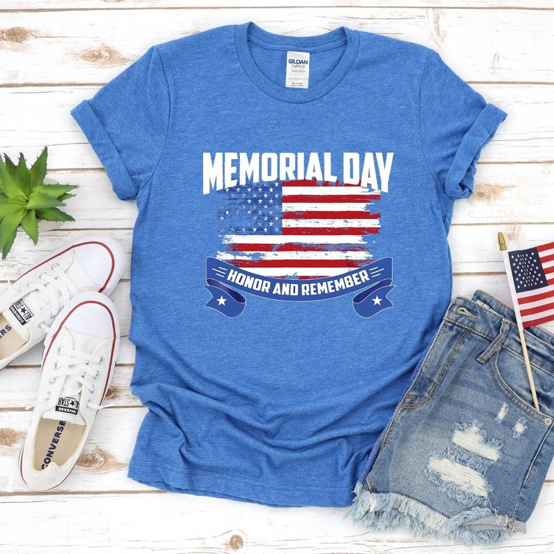 Memorial Day Honor And Remember Gift Shirt Masswerks Store