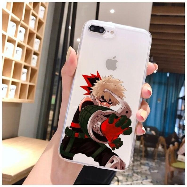 Xr Deku Bakugou iPhone Xs X iPhone 11 Case Max Anime Phone Case Black Phone Case My Hero Academia Phone Case For iPhone 12 Pro Max