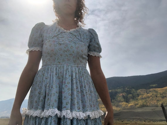 Handmade prairie dress.