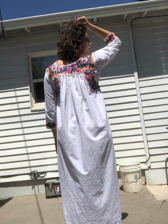 Mexican embroidered dress. - image 3