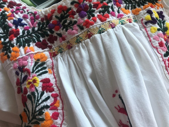 Mexican embroidered dress. - image 6