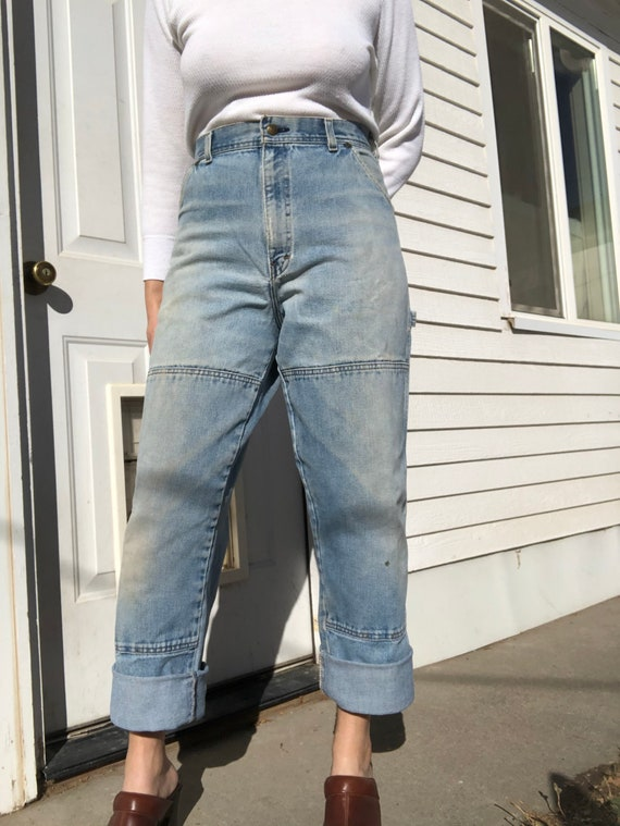 USA works carpenter style jeans.