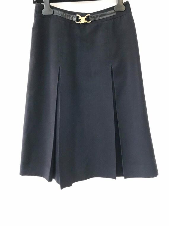 Vintage Céline Paris 70's skirt