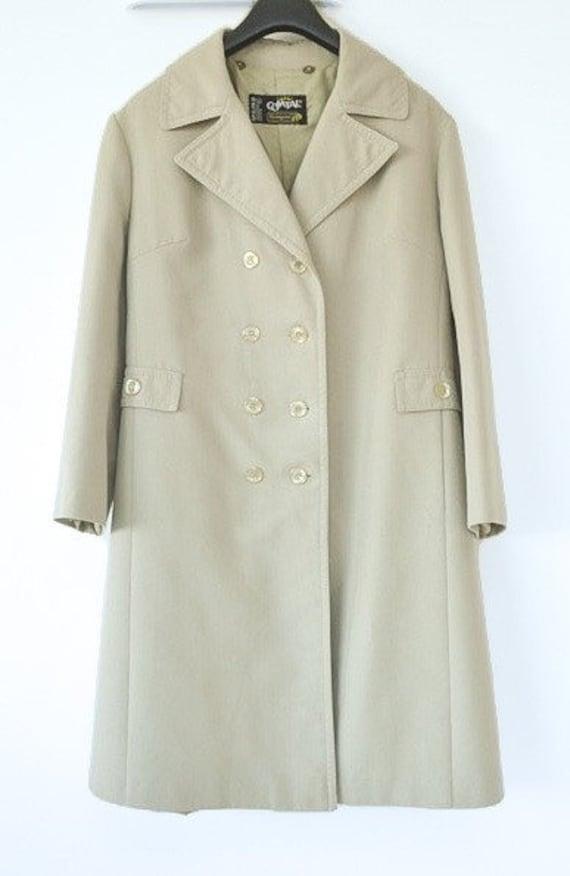 Vintage French rain coat